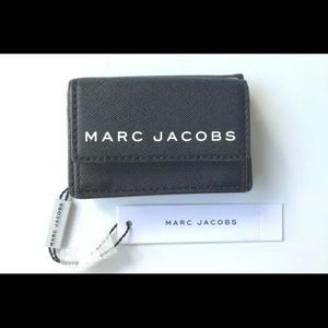 NWT Marc Jacobs small black wallet
